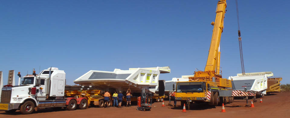 PR Logistics Perth - Crane Hire & Logistics for Western